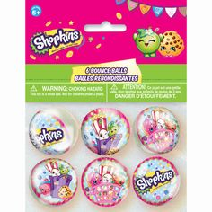 With these Shopkins Bouncy Balls, your young collectors can have hours of fun with their favorite pocket-sized toys