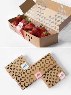 Packaging transparente I Singular Graphic Design Food Packaging Materials, Food Packaging Design, Vegetable Packaging, Fruit Packaging, Fruit Logo, Fruit Gifts, Food Stall, Food To Go, Diy Box
