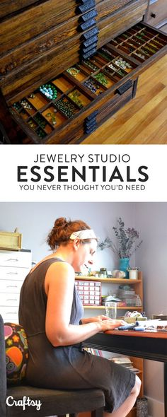 It's not all about the tools in a jewelry studio. Read more about Lorelei Eurto's jewelry studio favorites. They may surprise you!