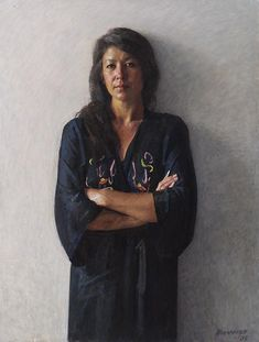 """"""" I have always wanted to draw, sculpt and paint my world. I am amazed at how much work expands my reality"""" Robert (Alfie) Hannaford. Australian Painting, Australian Artists, Oil Portrait, Painting Portraits, Female Portrait, Art Paintings, Classical Realism, Figure Painting, Figure Drawing"""