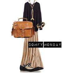 """Comfy Monday"" by ecoglamwarrior on Polyvore"