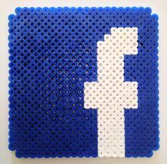 Facebook design for Perler beads