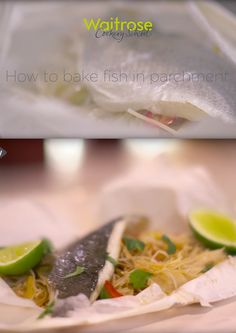 Leyli from the Waitrose Cookery School shows you a simple method for baking fish in the oven. Find more fish recipes on the Waitrose website. Baked Fish, Fish Recipes, Seafood, Healthy Living, Oven, Good Food, Website, Baking, Eat
