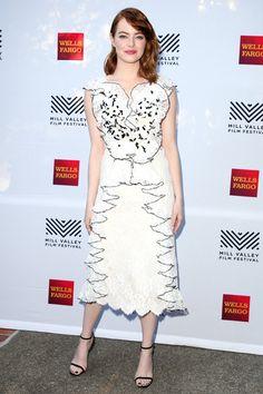 エマ・ストーン@ミルバレー映画祭|エマ・ストーン(Emma Stone)の『ラ・ラ・ランド(la la land)』必勝ドレスカタログ集