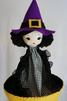 bybido: Little Witch Doll Puppet
