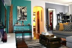 Ideas to incorporate bold color