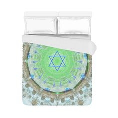 Assorted duvet cover, pillow case and pillow case inner included- judaica gift…