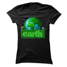Cool earth day T shirts