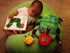 Such sweet special moments captured of an Eric Carle fan! Shared on www.facebook.com/theworldofericcarle!