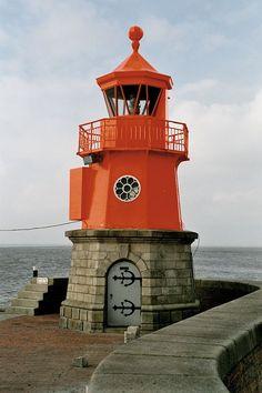 Emden light, Niedersachen, Germany