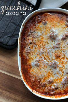no fuss zucchini lasagna