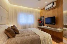 Construindo Minha Casa Clean: Consultoria de Decoração: Quarto Estreito com Banheiro!