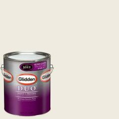 Glidden DUO Martha Stewart Living 1-gal. #MSL029-01S Glass of Milk Semi-Gloss Interior Paint with Primer-MSL029-01S at The Home Depot