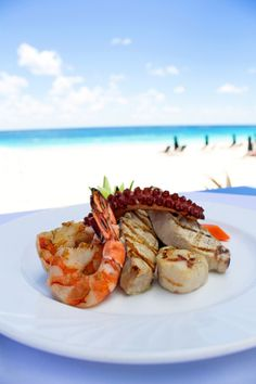 f6ad73a9 Seafood right on the beach at Mickey's! Bermuda Hotels, Bermuda Travel,  Seafood Platter