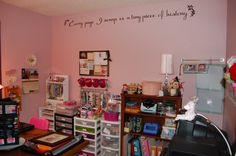 Wall quote made with cricut - Scrapbook.com