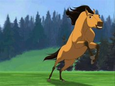 spirit: stallion of the cimarron. I've always wanted to be Spirit, beautiful, majestic, and free Dreamworks Movies, Dreamworks Animation, Disney And Dreamworks, Disney Animation, Spirit The Horse, Spirit And Rain, Spirit Der Wilde Mustang, Horse Movies, Childhood Movies