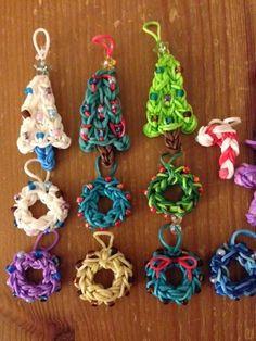 Christmas with the rainbow loom