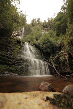 Adamsons falls, Far South Tasmania