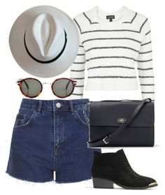 """""""Untitled #4032"""" by style-by-rachel ❤ liked on Polyvore featuring Topshop, A.P.C. and CÉLINE"""