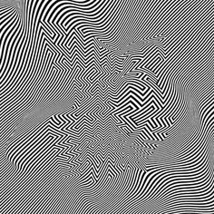 Black And White Picture Wall, Black And White Wallpaper, Black And White Pictures, Illusion Paintings, Illusion Art, Cool Illusions, Optical Illusions, Tableau Pop Art, Easy Landscape Paintings