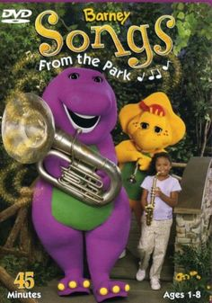 Barney Songs - From The Park: Compilation of special musical moments between Barney and friends as they spend time in his new park.brGenre: /bChildren's VideobrRating: /bNRbrRelease Date: Type: /bDVD Michaela Dietz, David Bennett, Barney The Dinosaurs, Julie Johnson, Barney & Friends, Movie Gifs, Kids Shows, Great Friends, Elmo
