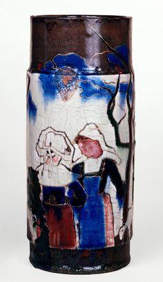 Paul Gauguin. Ceramic vase @ MOMA