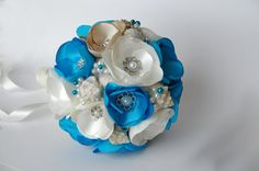 Playa boda Ramos bouquet de concha de mar ramo de por MkeFlower