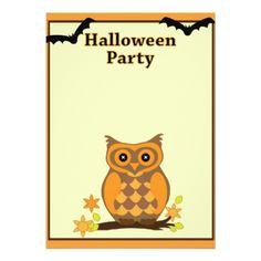 Halloween Invitation Card - Halloween happyhalloween festival party holiday