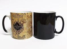 Harry Potter Marauders Map Heat Sensitive Color Changing Mug