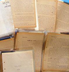 The Original Final Draft Typescript for James Hilton's famous novel LOST HORIZON, memorably filmed by Frank Capra.