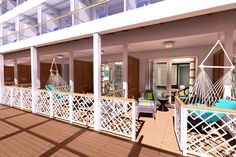These new Havanas Cabanas on Carnival Vista are so unique and look totally AWESOME!
