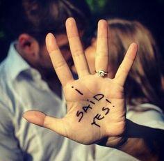 I Said YES | Wedding Photograpghy