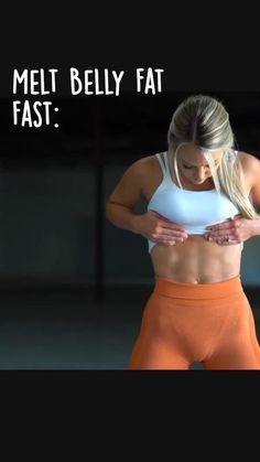 Lower Belly Workout, Slim Waist Workout, Flat Belly Workout, Gym Workout For Beginners, Fitness Workout For Women, Workout Videos, Melt Belly Fat, Workout Challenge, Fitness Inspiration