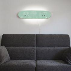 Fancy - Skateboard Lamp Casper White Tree