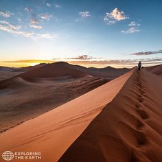 Exploration & Photo by @eevamakinen Location / Dune 45, Namib Desert, Namibia