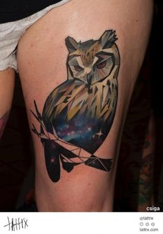 20 Owl Tattoos - Unbelievable Designs
