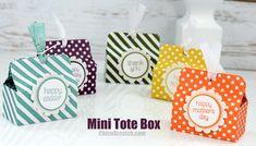 Mini Tote Box | Chic' n Scratch | Bloglovin'