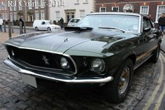 1969, Ford Mustang, 428 Cobra Jet, Sportsroof, Avenue Drivers Club, Queen Square, Bristol