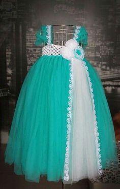 Tul Little Girl Gifts, Little Girl Dresses, Girls Dresses, Flower Girl Dresses, Crochet Tutu Dress, Crochet Fabric, Toddler Dress, Baby Dress, Crochet Baby Clothes
