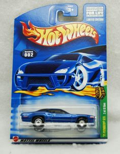 HOT WHEELS 2000 TREASURE HUNT SERIES '71 PLYMOUTH GTX #2 W/REAL RIDERS 1:64 NEW