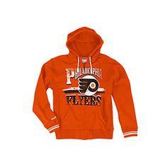 Antigua Philadelphia Flyers Signature Applique Hooded Sweatshirt