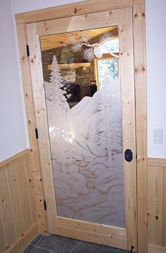 Etched Glass Interior Doors Increase Light in Your Home - Luxury Housing Trends Frosted Glass Window, Frosted Glass Interior Doors, Etched Glass, Glass Etching, Lots Of Windows, Home Inspection, Glass Panels, Room Interior, Furniture Decor