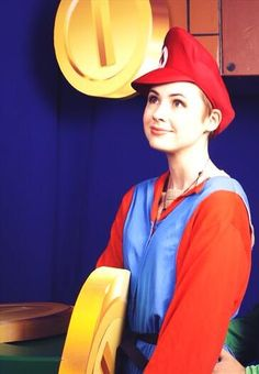 Karen Gillian dressed as Super Mario. Your argument is invalid.