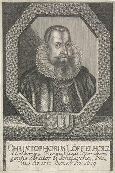 Johann Friedrich Leonard | Portret van Christophorus Löffelholz von Kolberg, Johann Friedrich Leonard, 1660 | Portret van Christophorus Löffelholz von Kolberg, senator te Neurenberg.