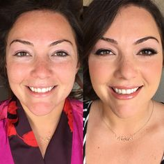#before & #after of Olivia! A #beautiful #bride in soft neutral tone shadows and muted rose pink lips  #makeup #makeupartist #mua #art #maui #mauimua #mauimakeupartist #hawaii #hawaiimua #hawaiimakeupartist #bride #bridal #bridalmakeup #bridalinspiration #bridebook #wedding #weddinginspiration #weddingmakeup #glam #beauty #love #toriellemakeupartistry