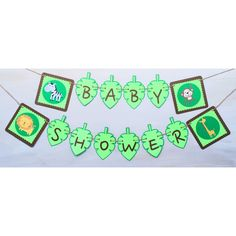 A personal favorite from my Etsy shop https://www.etsy.com/listing/252479444/jungle-baby-shower-banner-jungle-banner