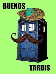 Hah. Buenos TARDIS.