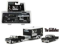 Toy Model Cars, Diecast Model Cars, Enclosed Car Trailer, John Deere Toys, Godfather Movie, Cadillac Fleetwood, Series 3, Chevrolet, Hollywood