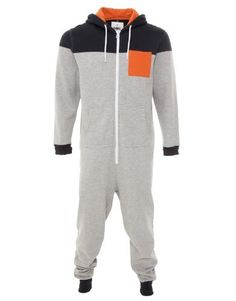 2bf827639bb4 Fabric Onesie - Grey - Mens by Fabric Of.