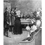 """Salem Witch Trials Webquest: Project Based Lesson to Introduce """"The Crucible"""" - This is a high-school aged PBL project used to get students interested in """"The Crucible."""" I think it is a really interesting idea to use PBL as a hook to start a different assignment, like reading a specific book."""